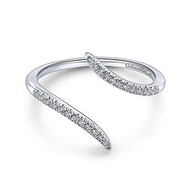 LR51052 Diamond Open Wrap Ring