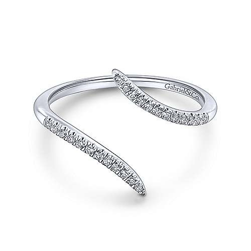 LR51052 Diamond Open Wrap Ring