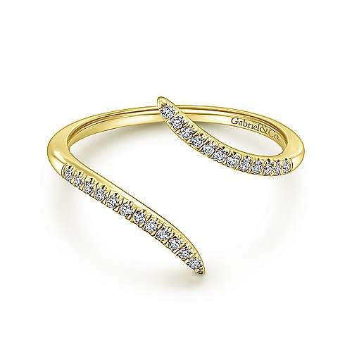 Gabriel & Co LR51052 Diamond Open Wrap Ring