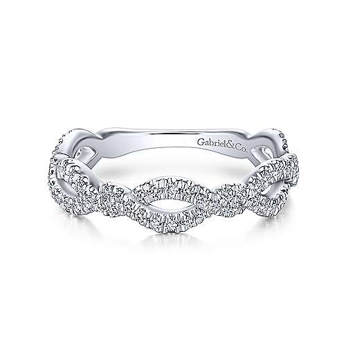 LR51259 Twisted Diamond Band