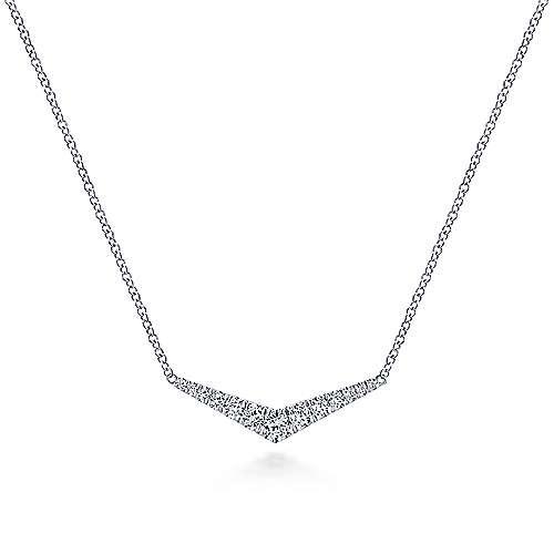 NK5568 Diamond Bar Style Necklace