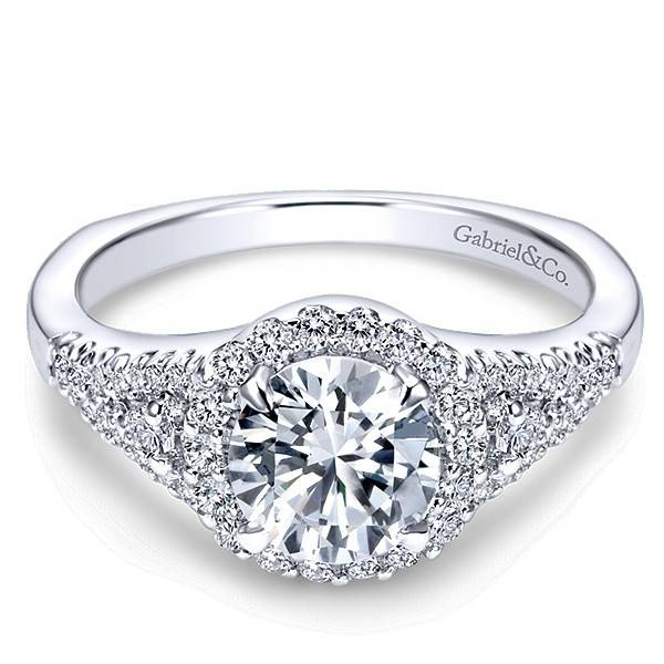 ER4179 Reagan halo engagement ring
