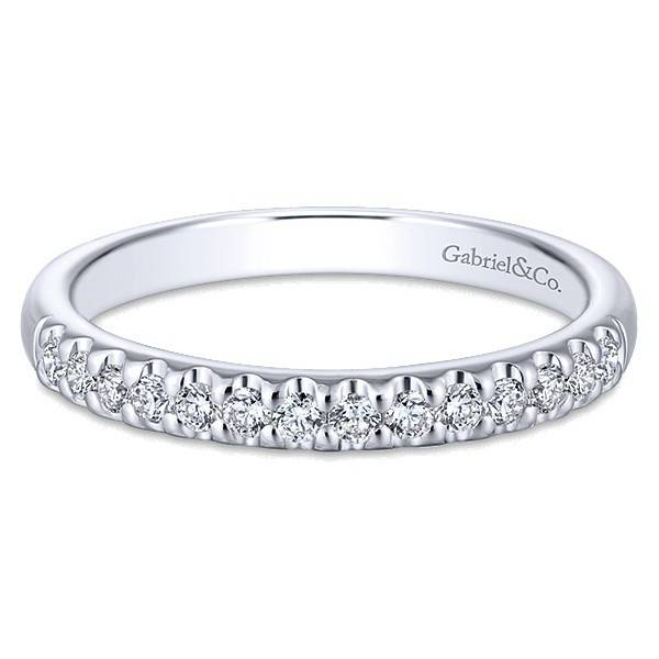 Gabriel & Co AN5335 diamond band