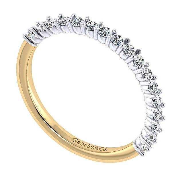 Gabriel & Co WB7498 diamond wedding band