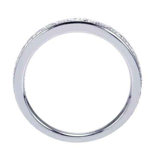 Gabriel & Co WB7222 engraved wedding band