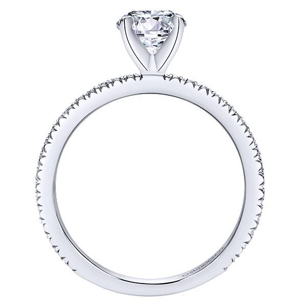 Gabriel & Co ER4181 4-Prong Diamond Band
