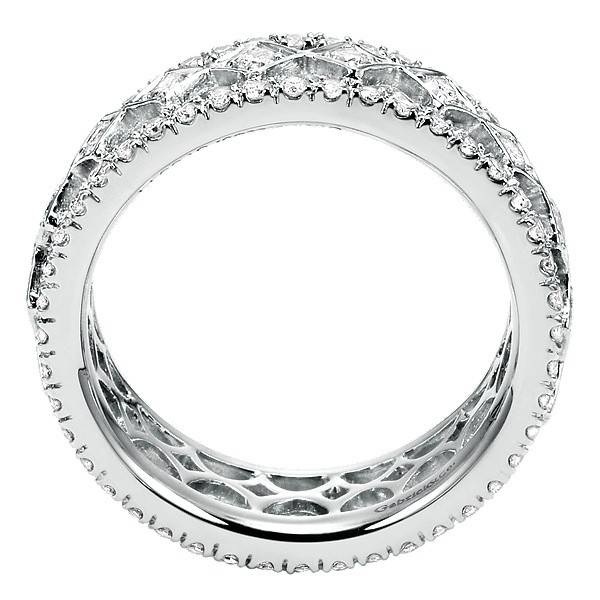Gabriel & Co AN6027 diamond eternity band
