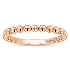 LR4871 rose gold ball band