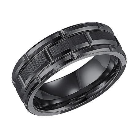 Triton 11-4127 tungsten wedding ring