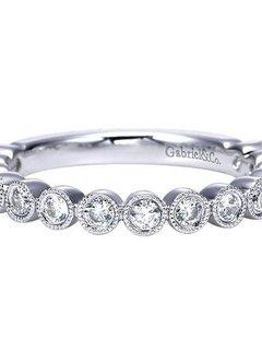 AN7959 Bezel Set Diamond Band