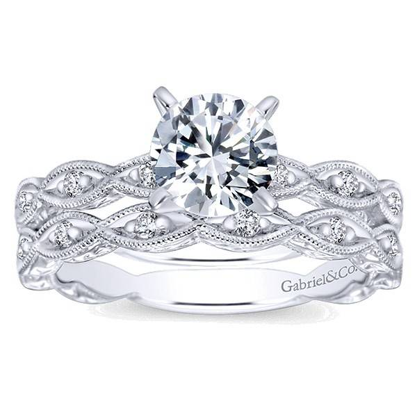 Gabriel & Co Wb4122 0.13 ct tw