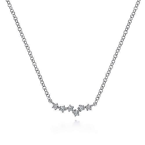 Gabriel & Co Diamond Constellation Necklace