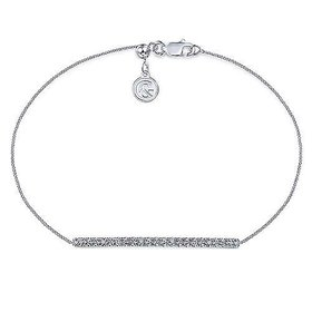 TB4216 Diamond Bar Bracelet