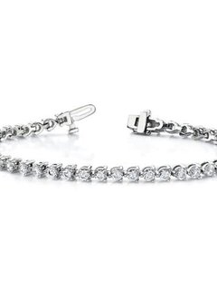 2.42 Carat Lab Grown Diamond Tennis Bracelet