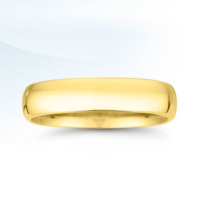 V1 Yellow Gold 5mm band