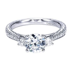 ER7288 Marianna 0.39 ct tw 6.5mm