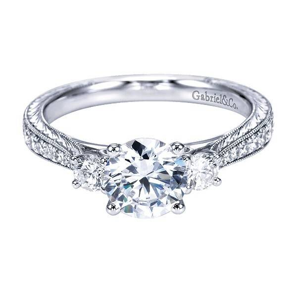 Gabriel & Co ER7288 Marianna 0.39 ct tw 6.5mm