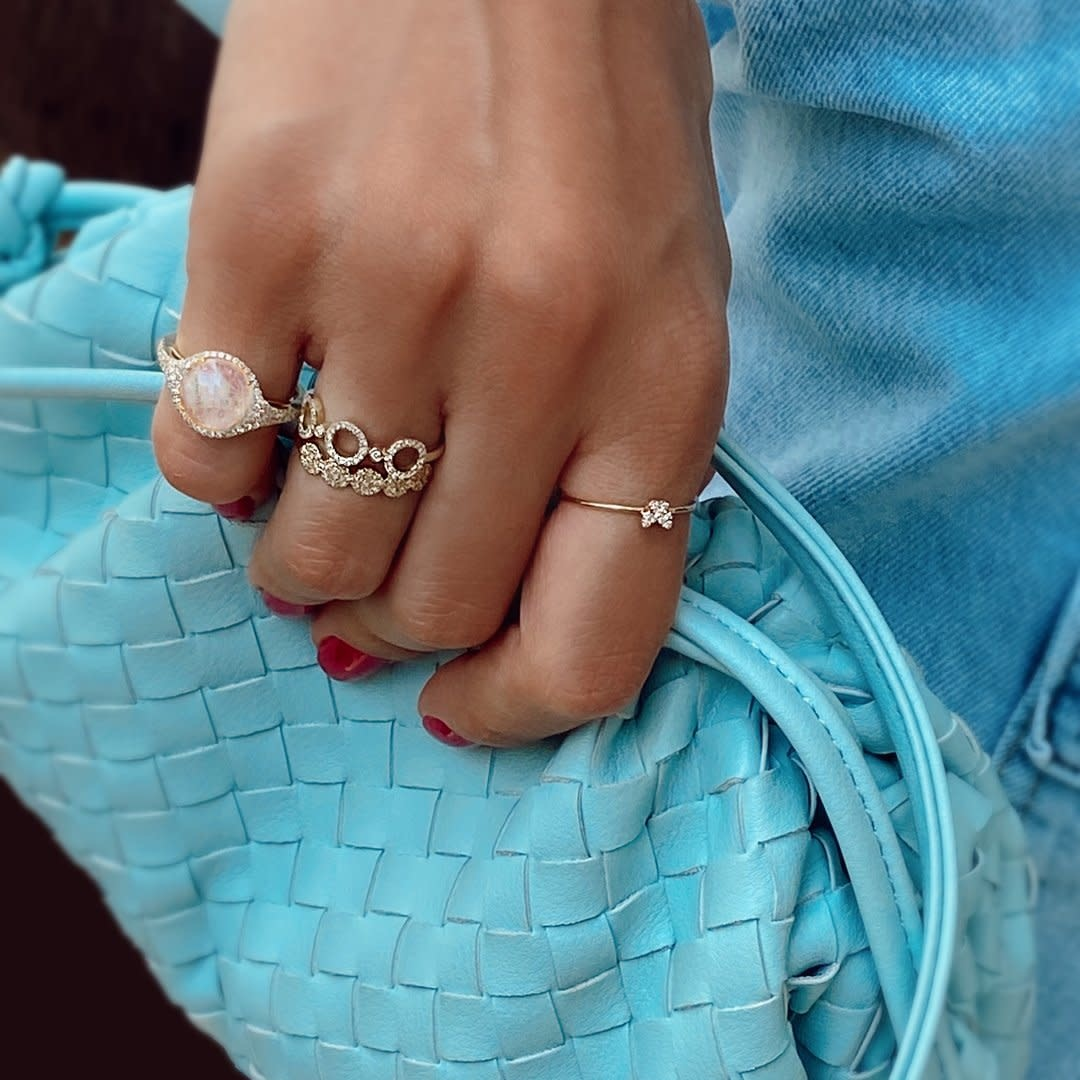 Meira T Moonstone Signet Ring