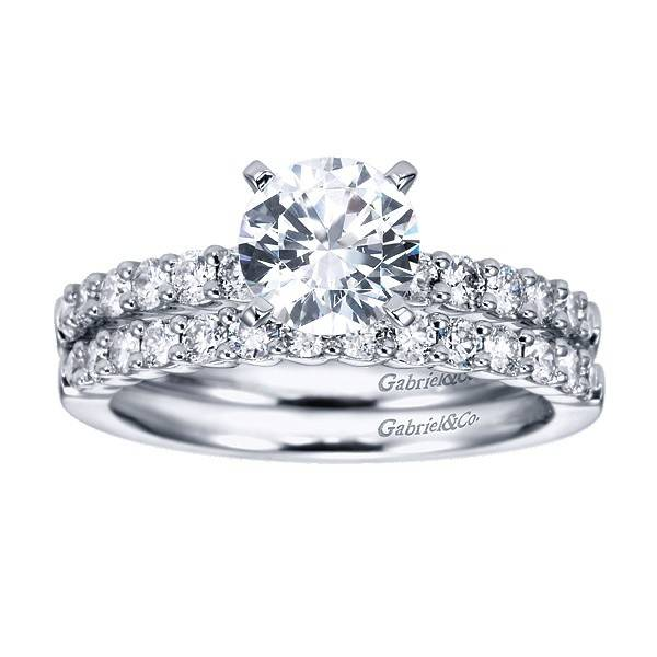 Gabriel & Co WB6874 diamond 0.35 ct tw
