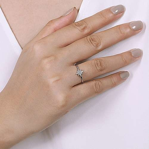 Gabriel & Co Diamond Starburst Ring