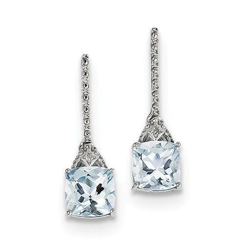 QE9957AQ aquamarine earrings
