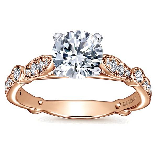 Gabriel & Co Mabel Victorian Style Engagement Ring Setting