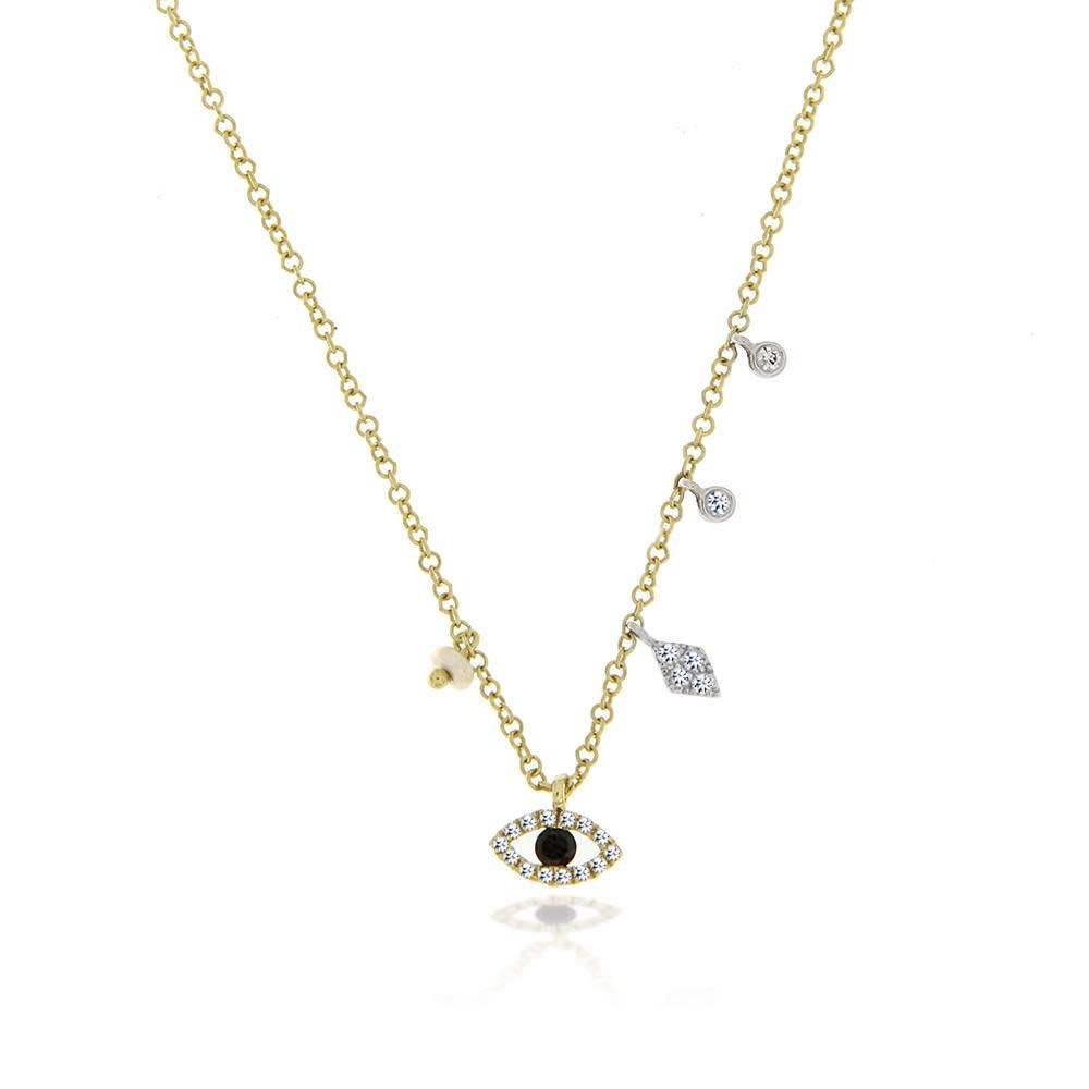 Meira T 1N9674 Evil Eye Charm Necklace