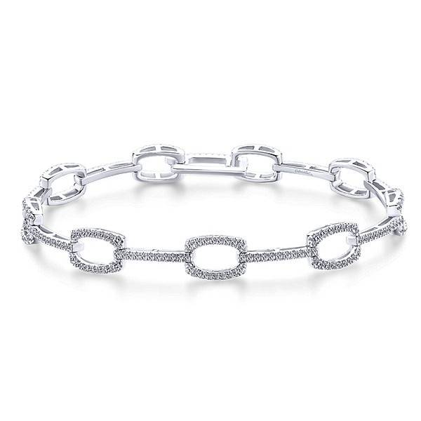 TB4036W45JJ diamond tennis bracelet