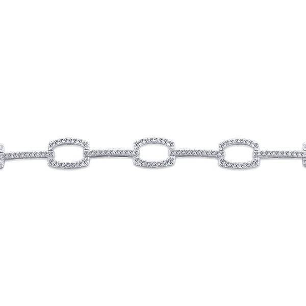 Gabriel & Co TB4036W45JJ diamond tennis bracelet