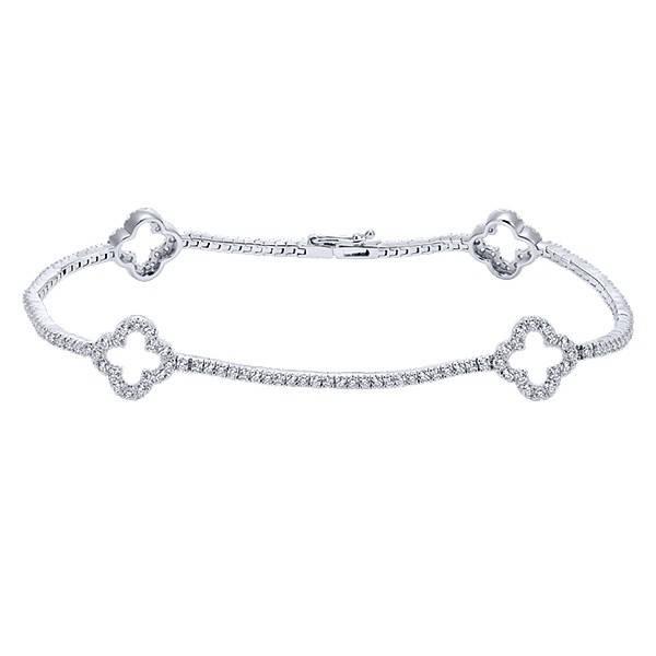 Gabriel & Co TB3900W45JJ tennis bracelet