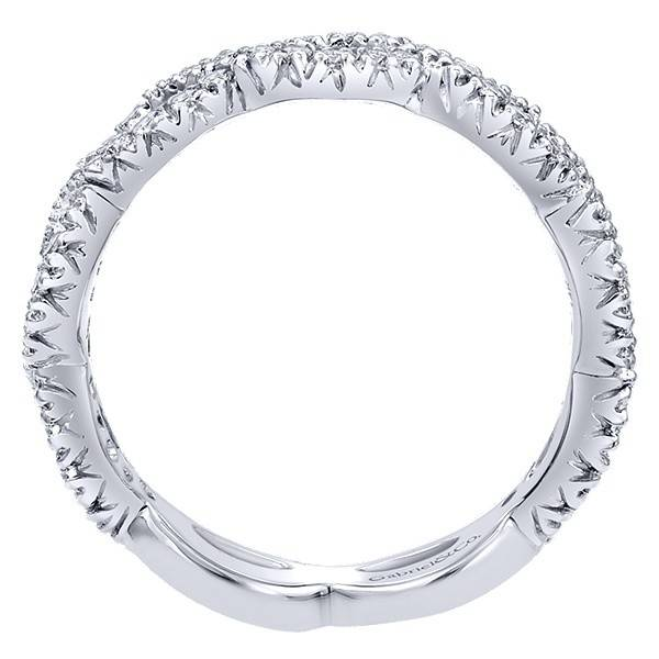 Gabriel & Co LR4589 diamond infinity band 0.42ct