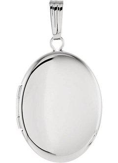 84923 sterling silver oval locket