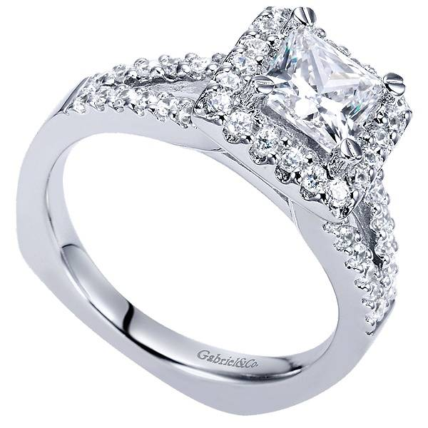 Gabriel & Co ER4113 Drew 0.45 ct tw  5.5mm PR