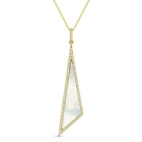 DN4924 mother of pearl necklace