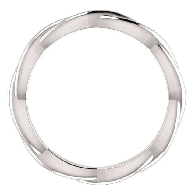 Stuller 51778 infinity wedding band