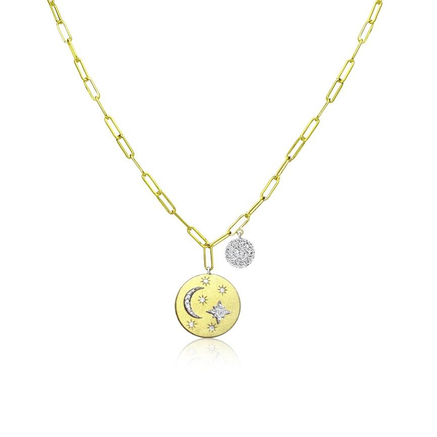 Celestial Medal Necklace