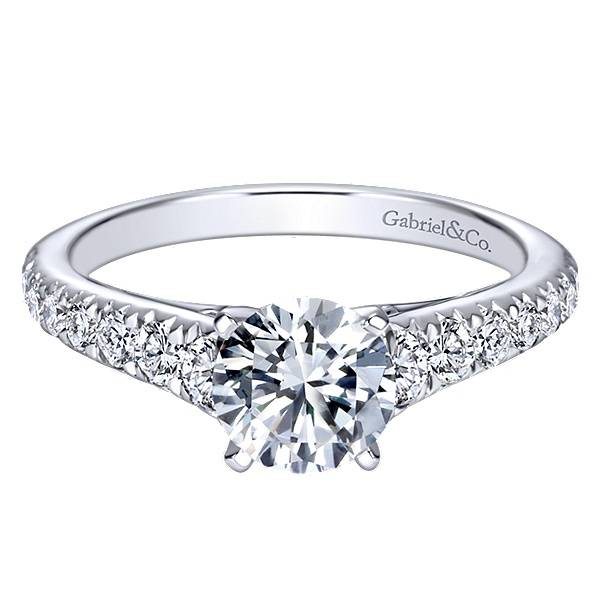 Gabriel & Co Bridget Graduating Diamond Accent Setting