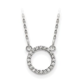 XP5027 diamond circle necklace
