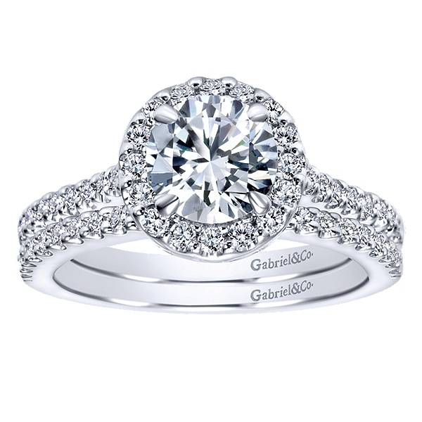 Gabriel & Co ER5832 Paige 0.41ct. 7.0mm.