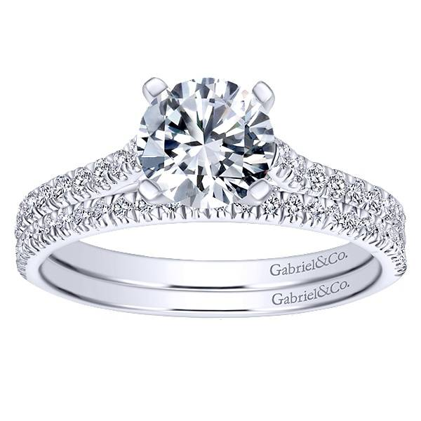 Gabriel & Co ER7224  Joanna 0.22ct 6.5mm