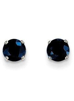 XBE140 sapphire stud earrings