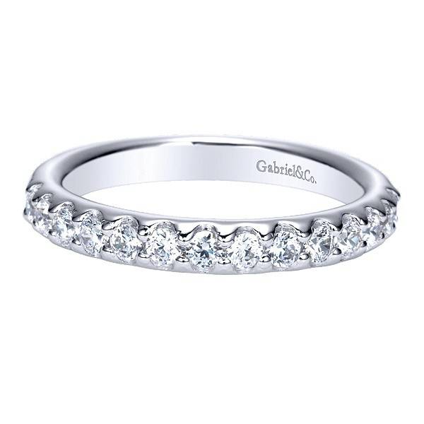 Gabriel & Co AN5336 fishtail 14 dia = 0.45 ct tw