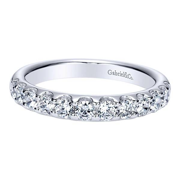 Gabriel & Co AN5337 diamond band 0.71ct
