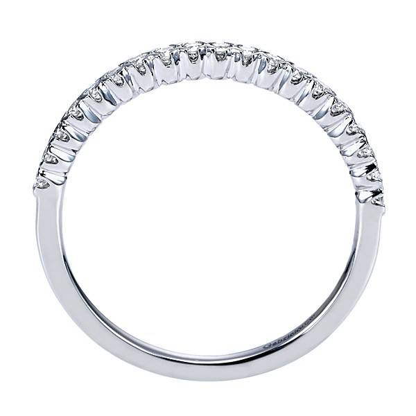 Gabriel & Co AN7610 diamond wedding band