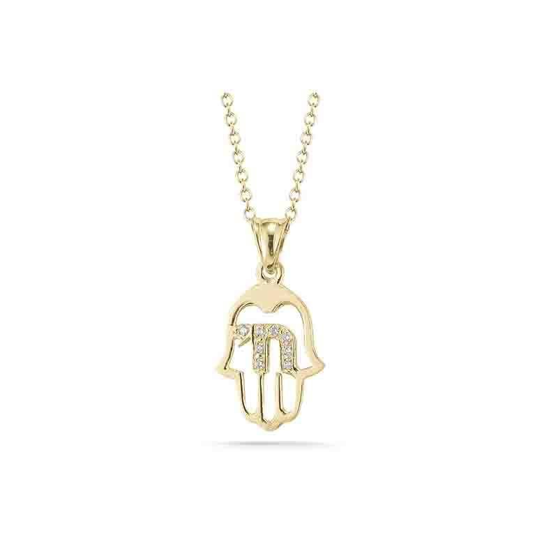 I. Reiss IR2166Y Chamsa Necklace