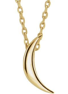 86607 Crescent Necklace