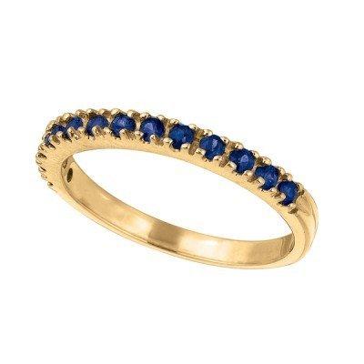IJM R5692YS blue sapphire band