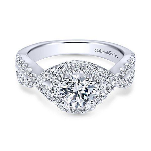 Gabriel & Co ER5798 Kendie 0.48ct. 6.0mm.