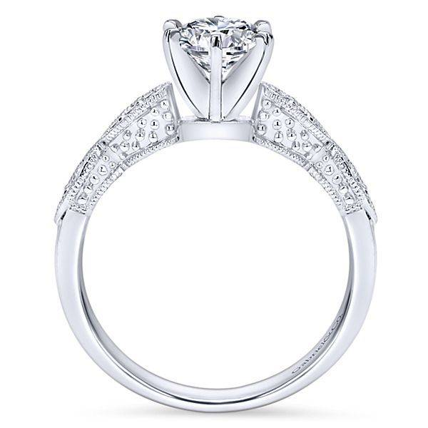 Gabriel & Co Clara Victorian Style Engagement Ring Setting