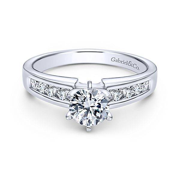 Rooney Channel Set Engagement Ring Setting